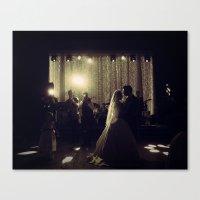 Jewish Wedding Canvas Print