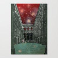 Atmosphere 30 · Electri… Canvas Print