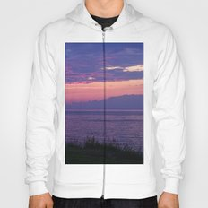 Purple Evening Clouds at Sea Hoody