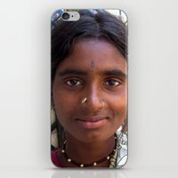 Indian Poor Woman iPhone & iPod Skin