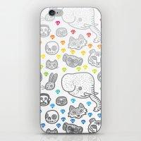 Hypno Animals iPhone & iPod Skin