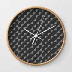 Typoptical Illusion A no.1 Wall Clock