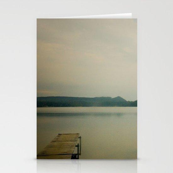 Herring Lake Dock Stationery Card