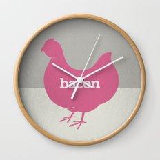 Bacon/Eggs Wall Clock