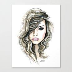 Beachy Waves Canvas Print