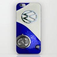 VW Split Screen Navy iPhone & iPod Skin