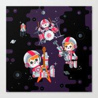 Space Rock Canvas Print