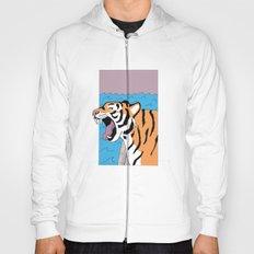 Tiger Yawn Hoody