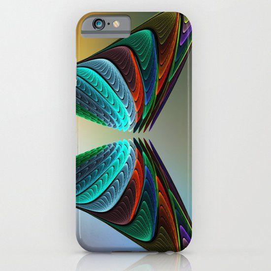 Fractal Butterfly iPhone & iPod Case