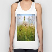 Summer Meadow Breeze Unisex Tank Top
