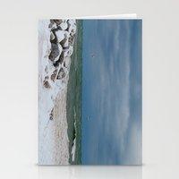 Cold Front On Lake Michi… Stationery Cards