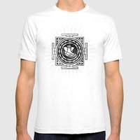Ganesh Sun Mens Fitted Tee White SMALL