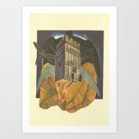 Rook  Art Print