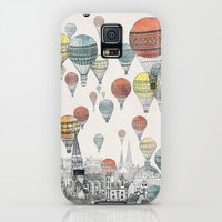 Galaxy S5 Cases featuring Voyages over Edinburgh by David Fleck