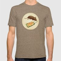 iTrap Mens Fitted Tee Tri-Coffee SMALL