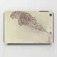 Bubbles the Snow Leopard iPad Case