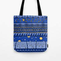 Yzor Pattern 010 Night Tote Bag