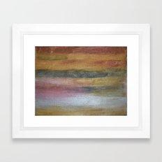 Color plate - rusty Framed Art Print