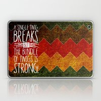 Tecumseh Quote Laptop & iPad Skin