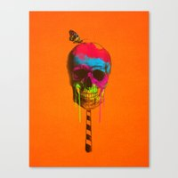 Skull Candy Canvas Print