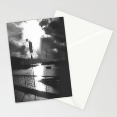 Morning awakes the Harbour Stationery Cards