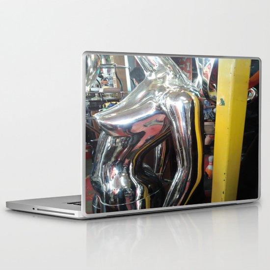 SILVER NUDE Laptop & iPad Skin