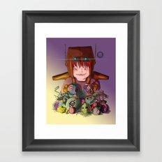 EL DESTRUCTOR Framed Art Print