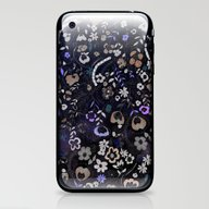 Floral Embroidery  iPhone & iPod Skin