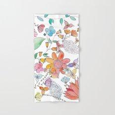 Flower Garden Hand & Bath Towel
