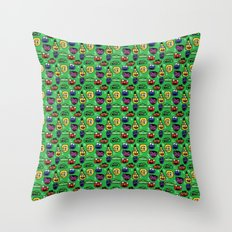 Sesame Street Pattern Throw Pillow