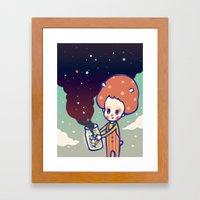 Magic Little Star Framed Art Print