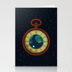 Cosmic Pocket Watch Stationery Cards