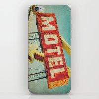 Thrashed Motel Sign iPhone & iPod Skin