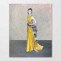 Rihanna   Golden Girl Fa… Canvas Print