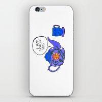 Tea Issues - Tissues iPhone & iPod Skin