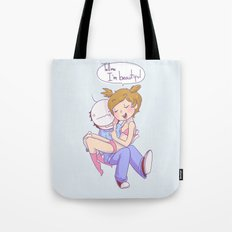 Pewdiecry: Tell me I'm Beautiful! Tote Bag