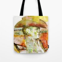 The journey of James D. Tote Bag