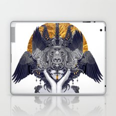 Black Feathers Laptop & iPad Skin
