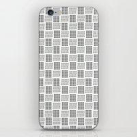 Dots & triangles iPhone & iPod Skin