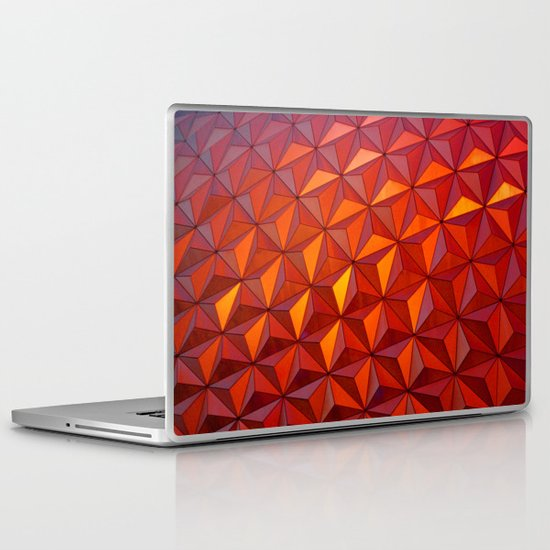 Geometric Epcot Laptop & iPad Skin