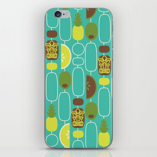 Tiki Weekend iPhone & iPod Skin