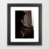 Curious v.2 Framed Art Print