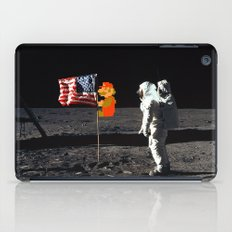 Super Mario on the Moon iPad Case