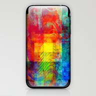 Abstract Painting Square… iPhone & iPod Skin