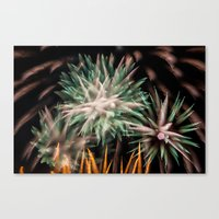 Fireworks - Philippines … Canvas Print