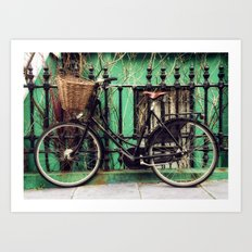 Bicycle at Rest Art Print