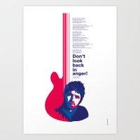 Noel Gallagher - Don't L… Art Print