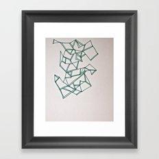 Crossing Over Framed Art Print