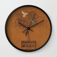 Songbirds Wall Clock