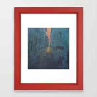 Memory, you have the key I Framed Art Print